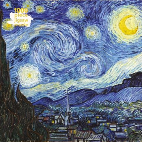 Starry Night by Vincent Van Gogh Jigsaw Puzzle ( 1000 Pieces )