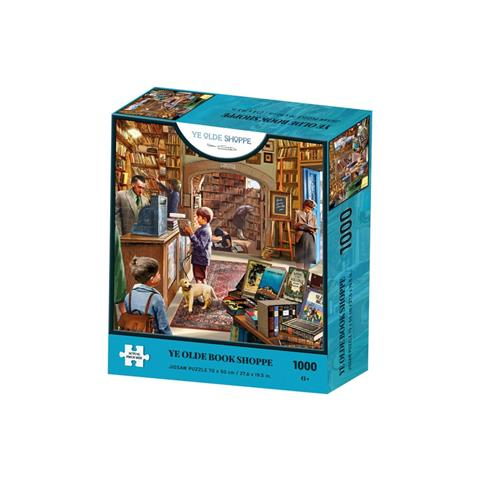 Ye Olde Book Shoppe Jigsaw Puzzle ( 1000 Pieces )