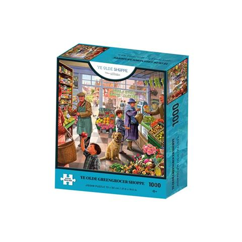Ye Olde Greengrocer Shoppe Jigsaw Puzzle ( 1000 Pieces )