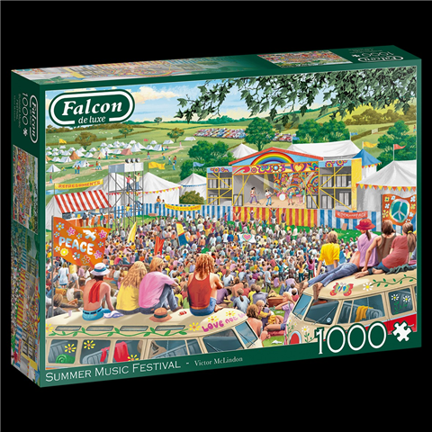 Summer Music Festival Jigsaw Puzzle ( 1000 Pieces )