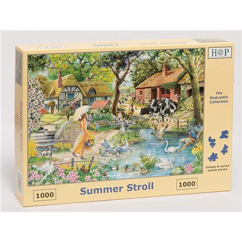 Summer Stroll Jigsaw Puzzle ( 1000 Pieces )