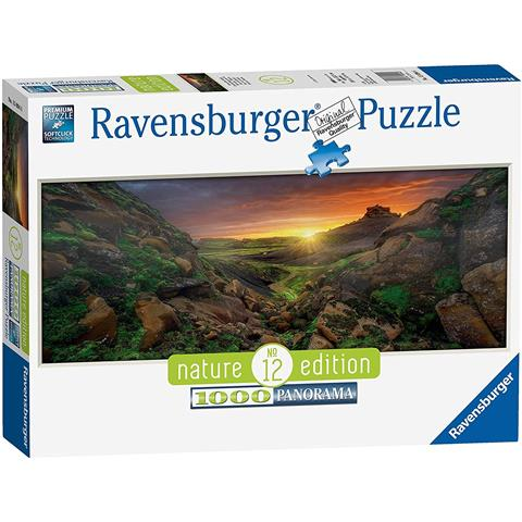 Sun over Iceland Jigsaw Puzzle ( 1000 Pieces )