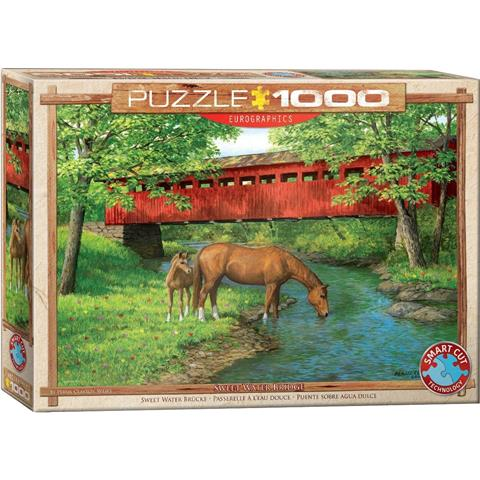 Sweet Water Bridge Jigsaw Puzzle ( 1000 Pieces )