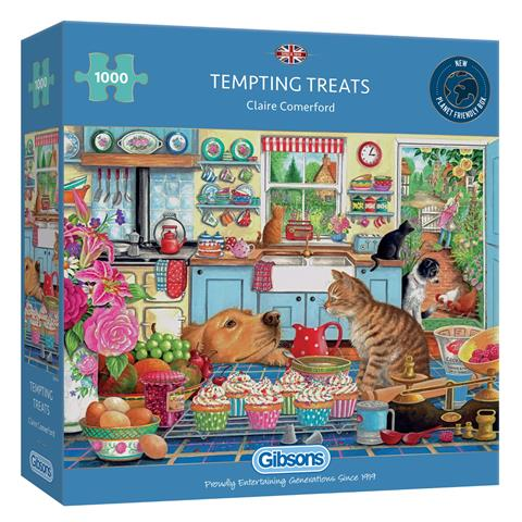 Tempting Treats Jigsaw Puzzle ( 1000 Pieces )