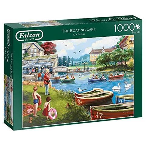 The Boating Lake Jigsaw Puzzle ( 1000 Pieces )