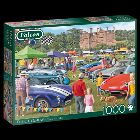 The Car Show Jigsaw Puzzle ( 1000 Pieces )