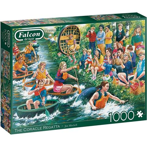 The Coracle Regatta Jigsaw Puzzle ( 1000 Pieces )