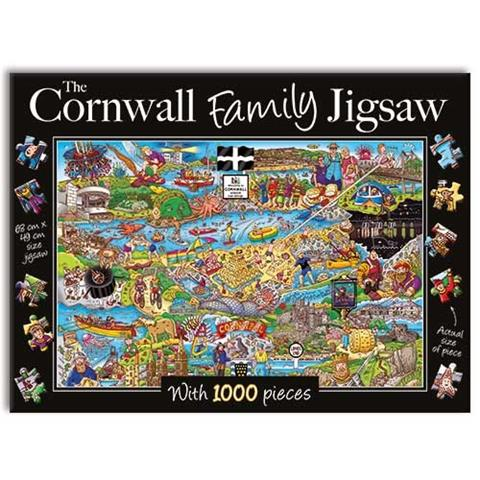 The Cornwall Family Jigsaw Puzzle ( 1000 Pieces )