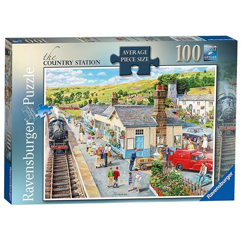 The Country Station Jigsaw Puzzle ( 100 XXL Pieces )