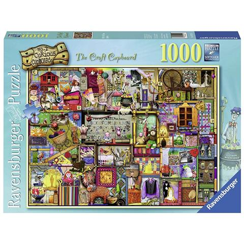 Curious Cupboards 2 - The Craft Cupboard Jigsaw Puzzle ( 1000 Pieces )