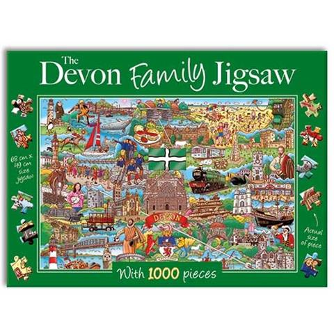 The Devon Family Jigsaw Puzzle ( 1000 Pieces )