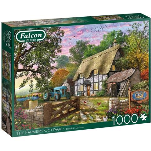 The Farmers Cottage Jigsaw Puzzle ( 1000 Pieces )