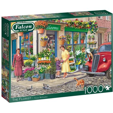 The Florist Jigsaw Puzzle ( 1000 Pieces )