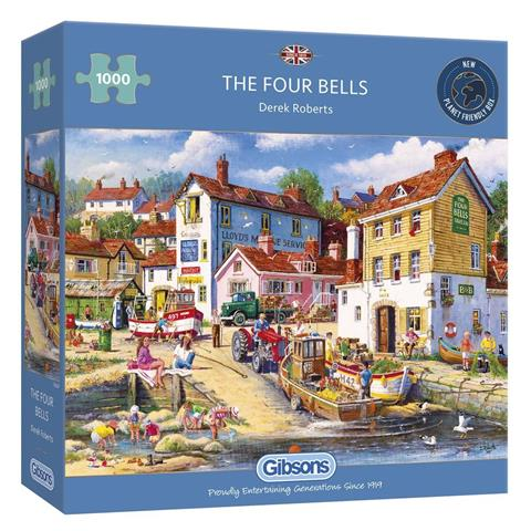 The Four Bells Jigsaw Puzzle ( 1000 Pieces )