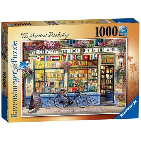 The Greatest Bookshop Jigsaw Puzzle ( 1000 Pieces )