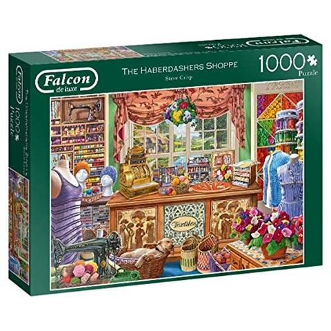 The Haberdashers Shoppe Jigsaw Puzzle ( 1000 Pieces )