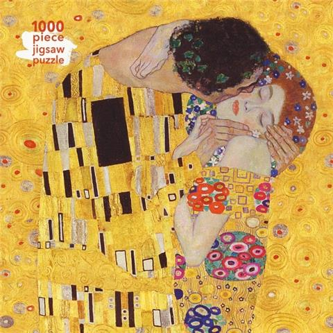 The Kiss by Gustav Klimt Jigsaw Puzzle ( 1000 Pieces )