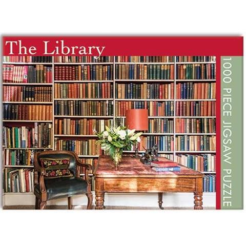 The Library Jigsaw Puzzle ( 1000 Pieces )