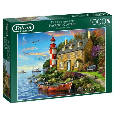 The Lighthouse Keepers Cottage Jigsaw Puzzle ( 1000 Pieces )