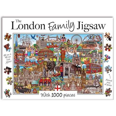 The London Family Jigsaw Puzzle ( 1000 Pieces )
