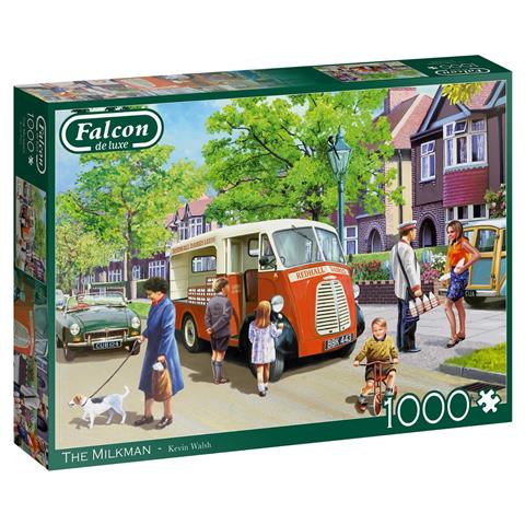 The Milkman Jigsaw Puzzle ( 1000 Pieces )
