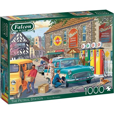The Petrol Station Jigsaw Puzzle ( 1000 Pieces )