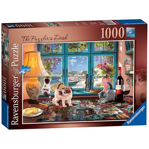 The Puzzlers Desk Jigsaw Puzzle ( 1000 Pieces )