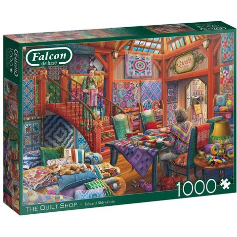 The Quilt Shop Jigsaw Puzzle ( 1000 Pieces )