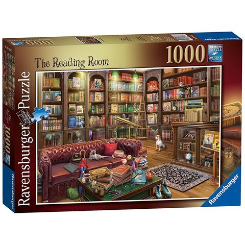 The Reading Room Jigsaw Puzzle ( 1000 Pieces )