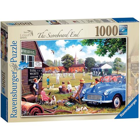 Leisure Days 4 - The Scoreboard End Jigsaw Puzzle ( 1000 Pieces )