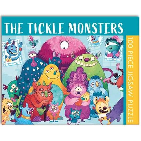 The Tickle Monsters Jigsaw Puzzle ( 100 Pieces )