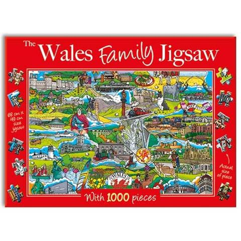 The Wales Family Jigsaw Puzzle ( 1000 Pieces )