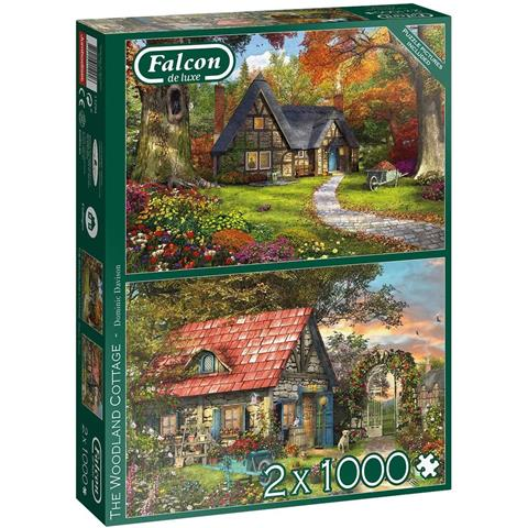 The Woodland Cottage Jigsaw Puzzle ( 2 x 1000 Pieces )