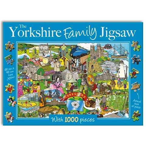 The Yorkshire Family Jigsaw Puzzle ( 1000 Pieces )