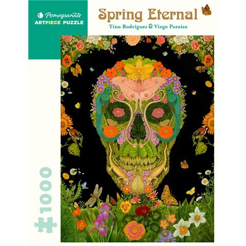 Spring Eternal by Tino Rodriguez and Virgo Paraiso Jigsaw Puzzle ( 1000 Pieces)