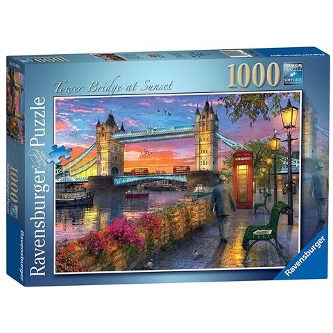 Tower Bridge at Sunset Jigsaw Puzzle ( 1000 Pieces )