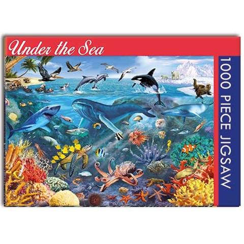 Under the Sea Jigsaw Puzzle ( 1000 Pieces )