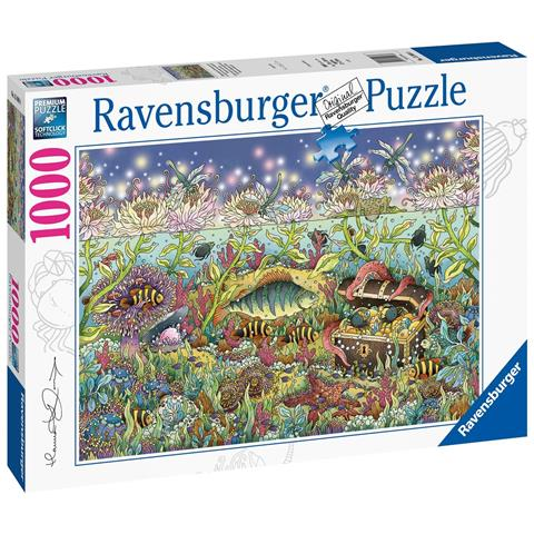 Underwater Kingdom at Dusk Jigsaw Puzzle ( 1000 Pieces )