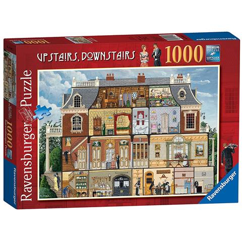 Upstairs Downstairs Jigsaw Puzzle ( 1000 Pieces )