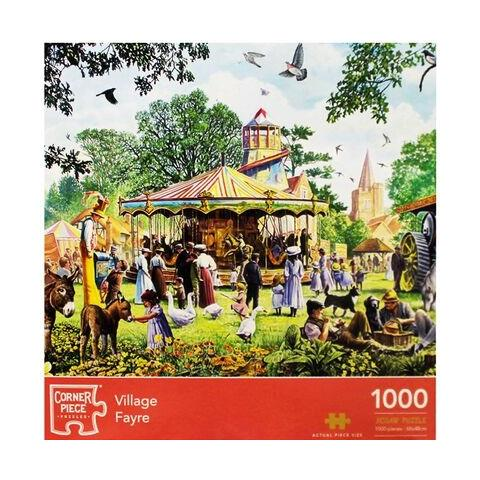 Village Fayre Jigsaw Puzzle ( 1000 Pieces )