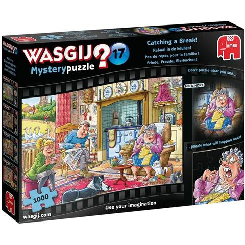 Wasgij Mystery 17 - Catching a Break Jigsaw Puzzle ( 1000 Pieces )