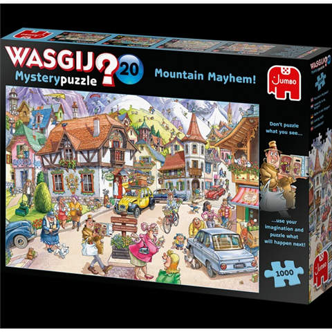 Wasgij Mystery 20 - Mountain Mayhem Jigsaw Puzzle ( 1000 Pieces )