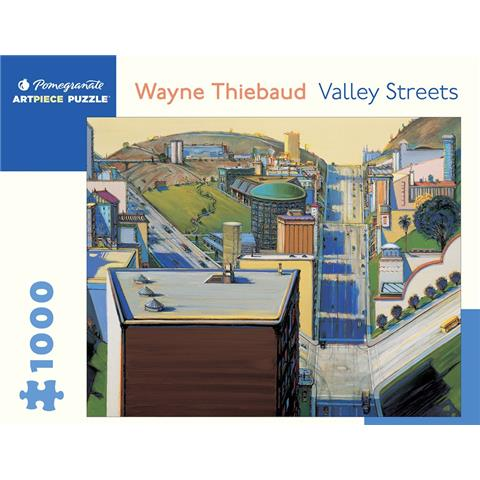 Valley Streets Jigsaw Puzzle ( 1000 Pieces )