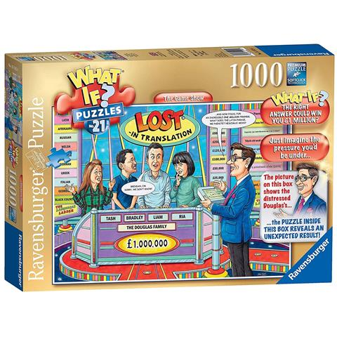 What If 21 - The Game Show Jigsaw Puzzle ( 1000 Pieces )