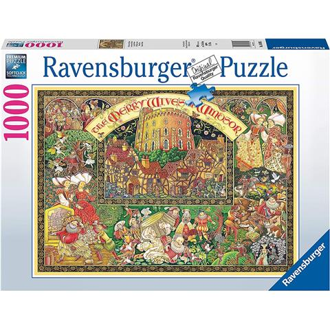 Windsor Wives Jigsaw Puzzle ( 1000 Pieces )