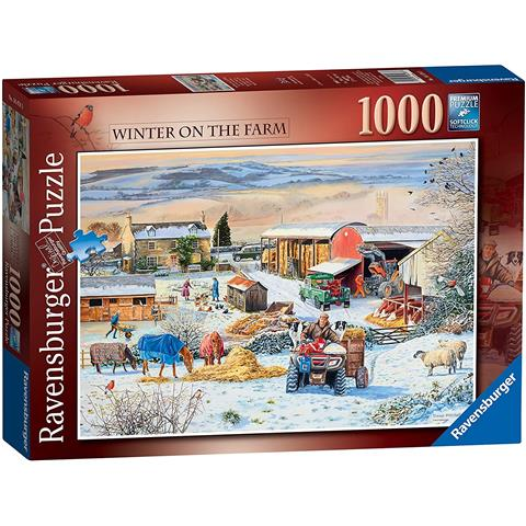 Winter on the Farm Jigsaw Puzzle ( 1000 Pieces )