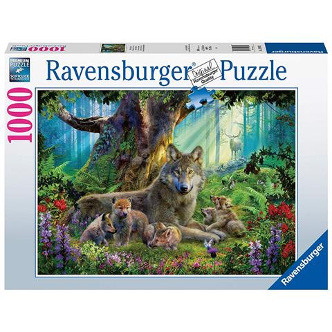 Wolves in the Forest Jigsaw Puzzle ( 1000 Pieces )