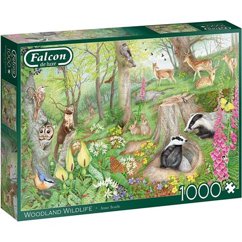 Woodland Wildlife Jigsaw Puzzle ( 1000 Pieces )