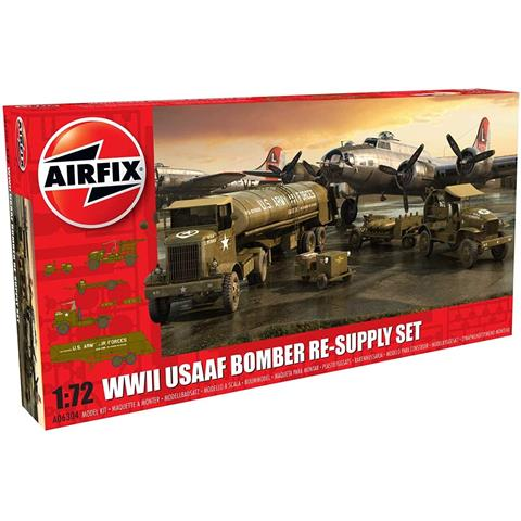 WWII USAAF Bomber Re-Supply Model Set