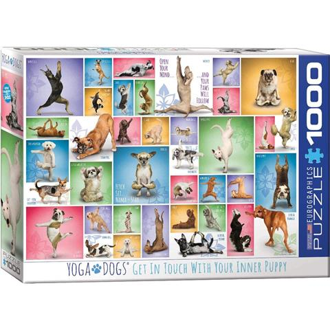 Yoga Dogs Jigsaw Puzzle ( 1000 Pieces )